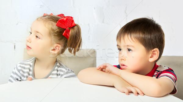 Beautiful Children Stock photo © PetrMalyshev