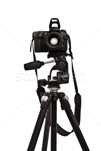 photo camera on tripod Stock photo © PetrMalyshev