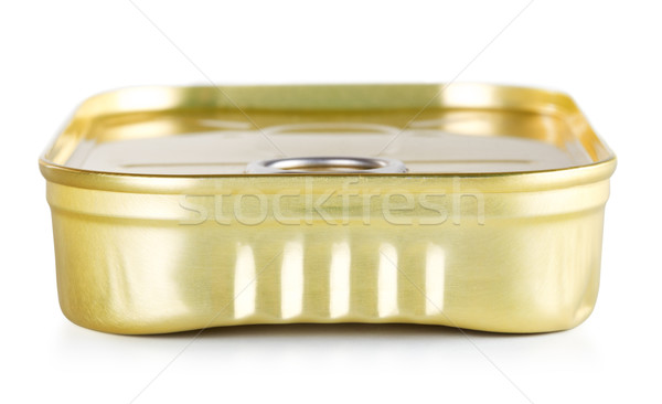 Tincan With Key Stock photo © PetrMalyshev