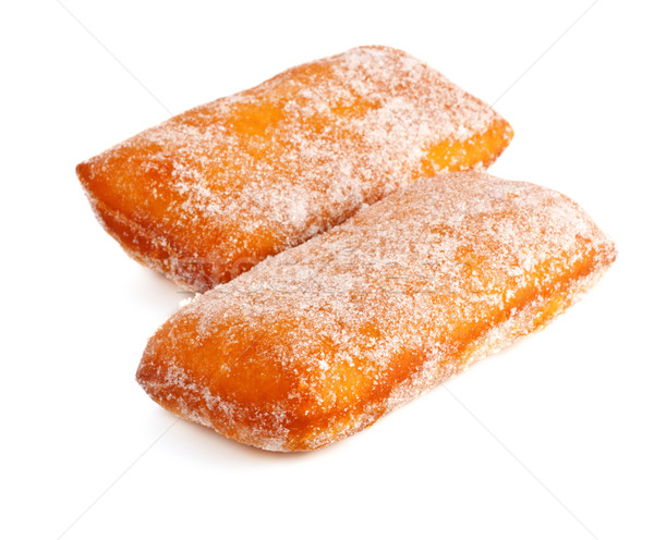 two donuts in powdered sugar Stock photo © PetrMalyshev