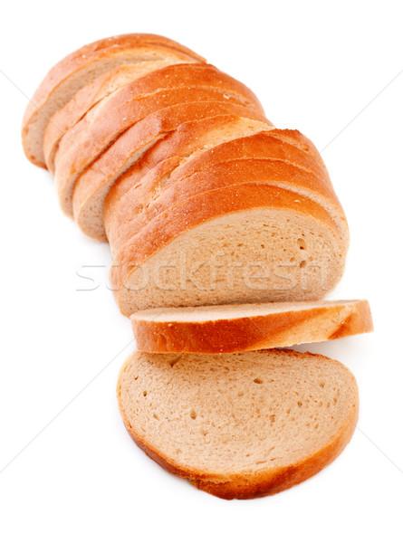 白パン 新鮮な パン 孤立した 白 ストックフォト © PetrMalyshev