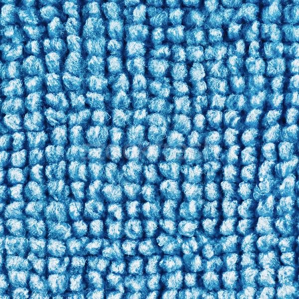 blue microfiber textile texture Stock photo © PetrMalyshev