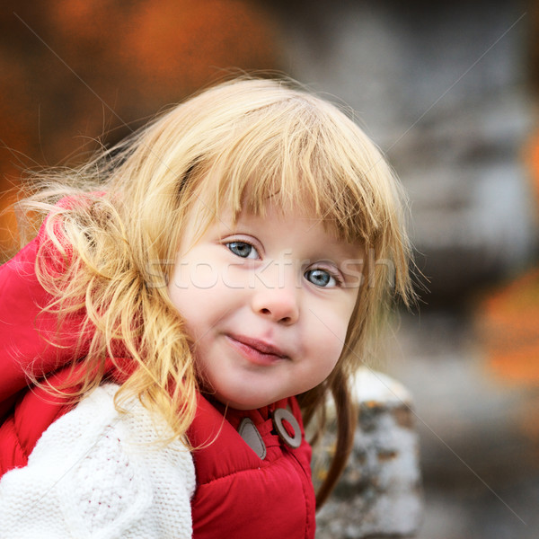 Beautiful Girl Portrait Stock photo © PetrMalyshev