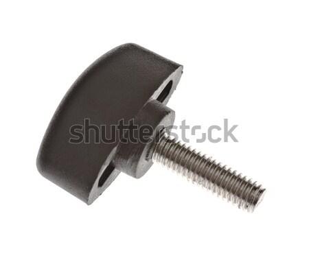screw with plastic head Stock photo © PetrMalyshev