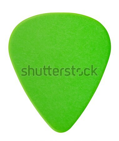 Green Plectrum Stock photo © PetrMalyshev