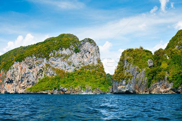 Andaman Sea Island Stock photo © PetrMalyshev