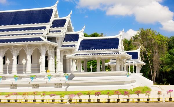 Tapınak krabi kasaba Tayland seyahat mimari Stok fotoğraf © PetrMalyshev