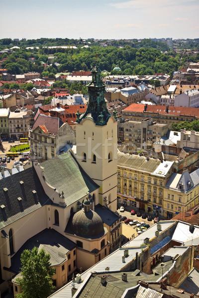 Lviv at summer Stock photo © PetrMalyshev