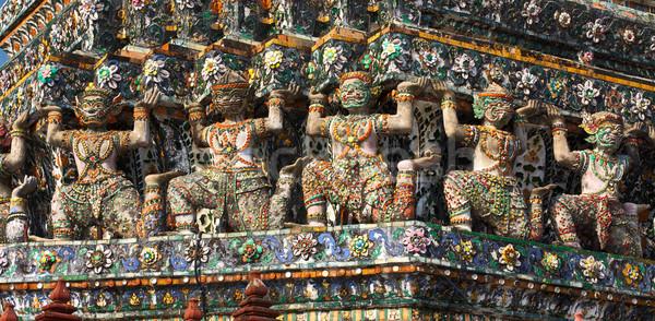 Wat Arun Bas-Relief Stock photo © PetrMalyshev