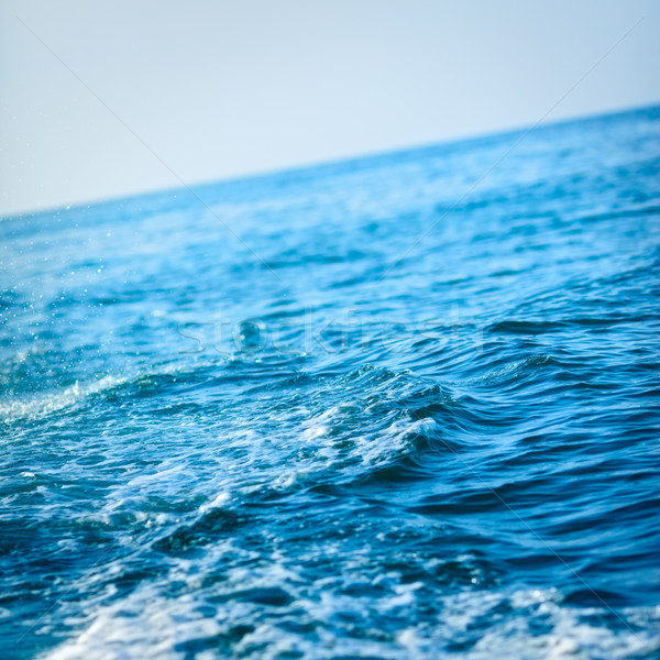 Blue Ocean Wave Stock photo © PetrMalyshev