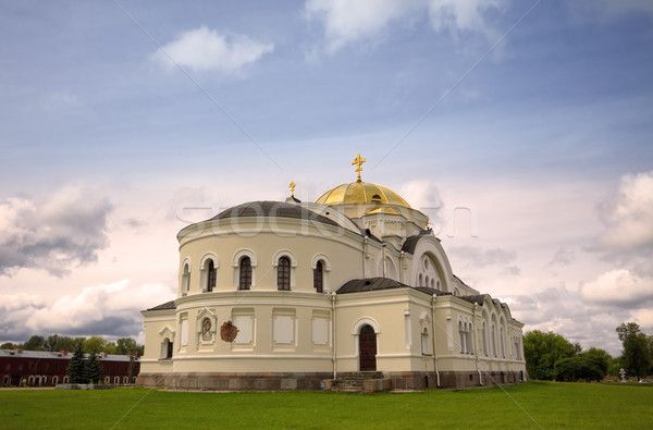 St. Nicholas Church in Brest Fortress Stock photo © PetrMalyshev