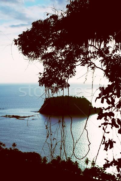 Andaman Sea Evening Stock photo © PetrMalyshev