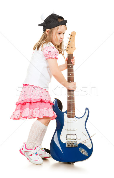 Baby Musician Stock photo © PetrMalyshev