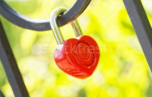 Love Lock Stock photo © PetrMalyshev