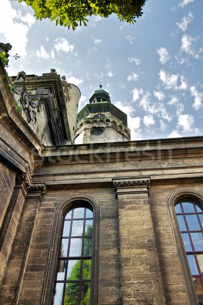 Bernardine Church in Lviv Stock photo © PetrMalyshev