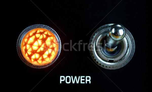 Amplifier Panel Stock photo © PetrMalyshev