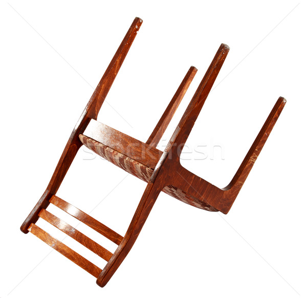 old turned chair Stock photo © PetrMalyshev