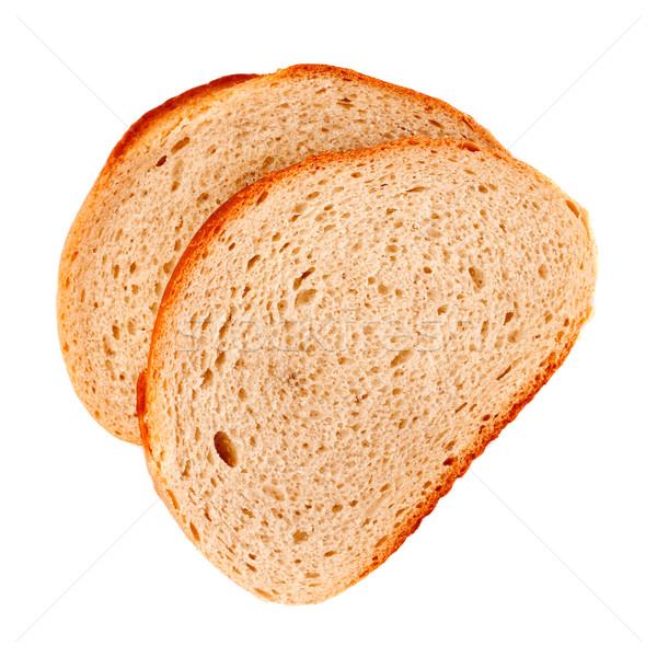White Bread Slices Stock photo © PetrMalyshev