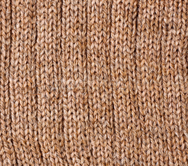 Brown Wool Texture Stock photo © PetrMalyshev