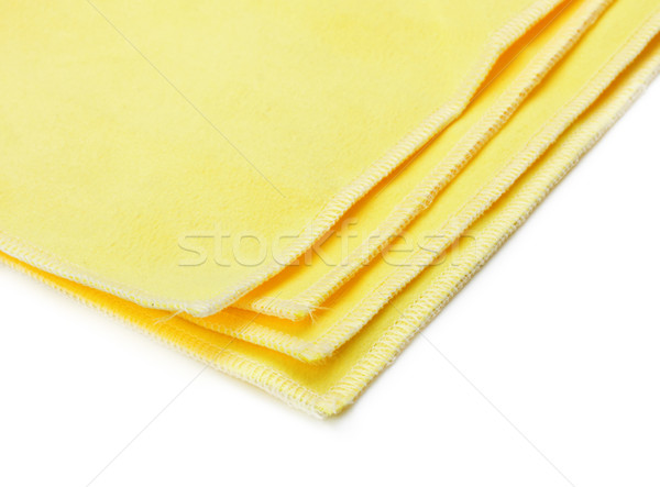 yellow microfiber duster Stock photo © PetrMalyshev