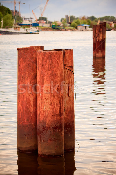 Decrepit Pillars Stock photo © PetrMalyshev