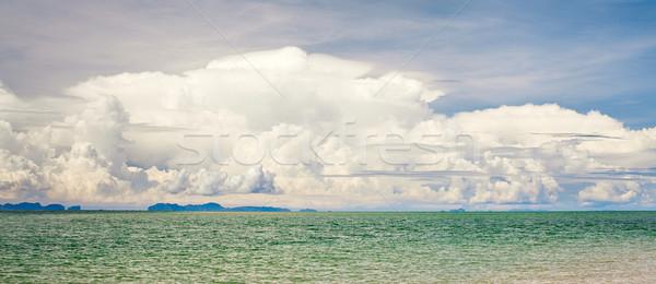 Mar paisaje nubes Asia Tailandia cielo Foto stock © PetrMalyshev