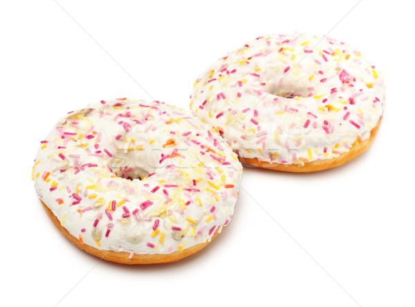 Stock photo: Sugar Glazed Donuts