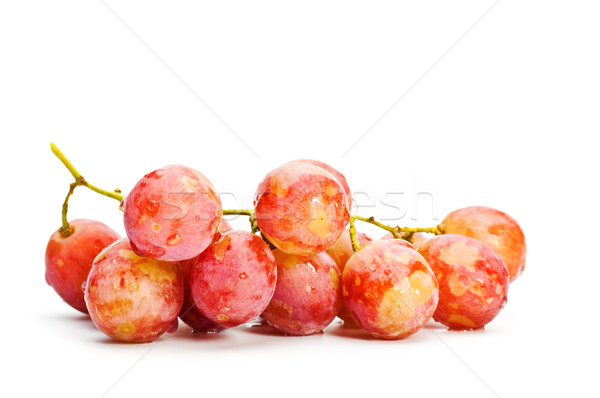 bunch of red grape  Stock photo © PetrMalyshev