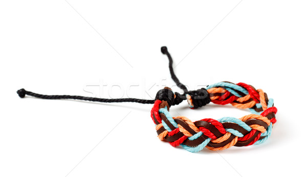 fabric arm bracelet Stock photo © PetrMalyshev