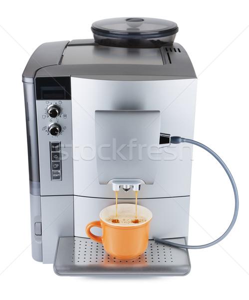 Coffee Machine Boiling Stock photo © PetrMalyshev