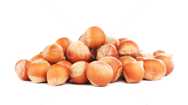Hazelnuts In A Shell Stock photo © PetrMalyshev
