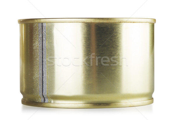 Closed Tincan Stock photo © PetrMalyshev