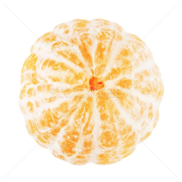 Fresh Peeled Mandarin Stock photo © PetrMalyshev