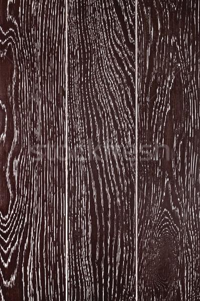 Black Painted Oak Boards Background Stock photo © PetrMalyshev