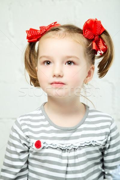Beautiful Little Girl Stock photo © PetrMalyshev