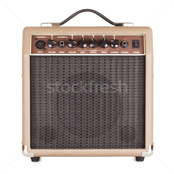 Guitar Amplifier Stock photo © PetrMalyshev