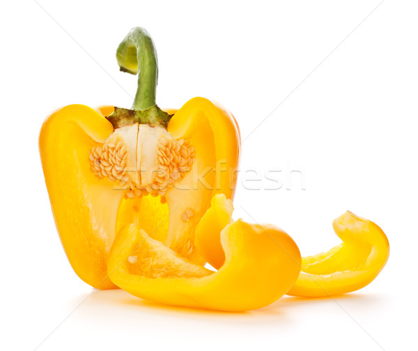Yellow Paprika Stock photo © PetrMalyshev