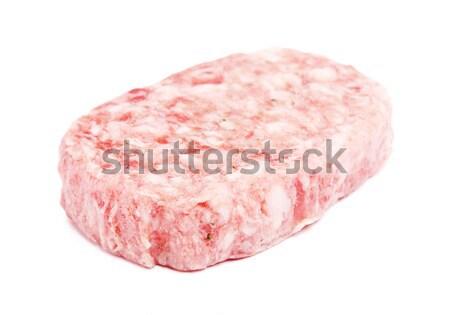 Raw Pork Cutlet Stock photo © PetrMalyshev