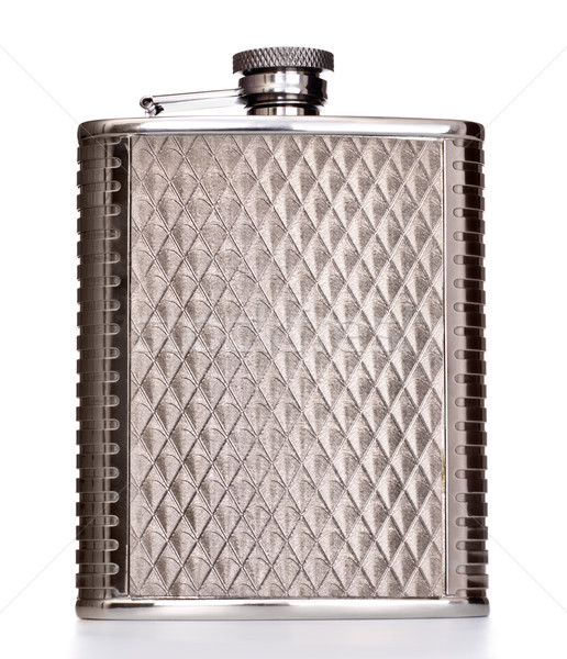 Metal Flask Stock photo © PetrMalyshev