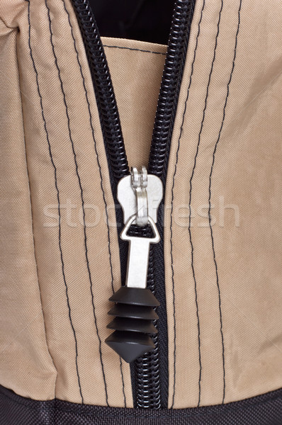 zipper clasp Stock photo © PetrMalyshev