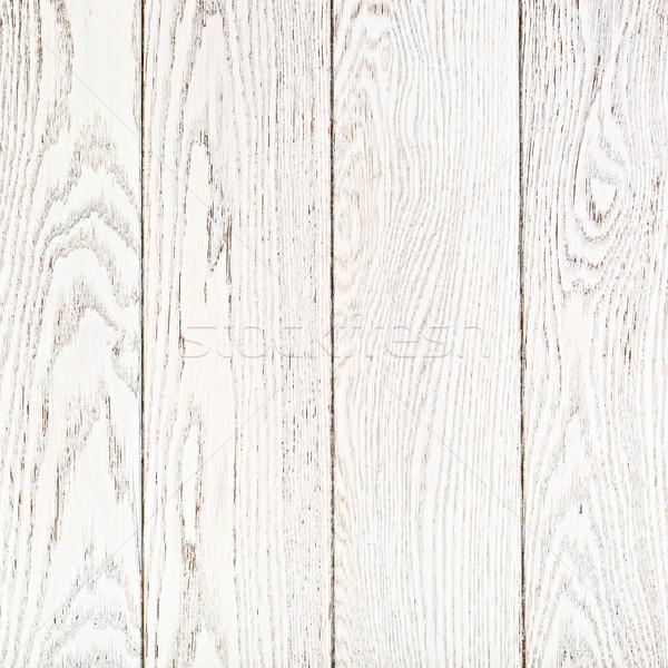 White Painted Oak Boards Background Stock photo © PetrMalyshev