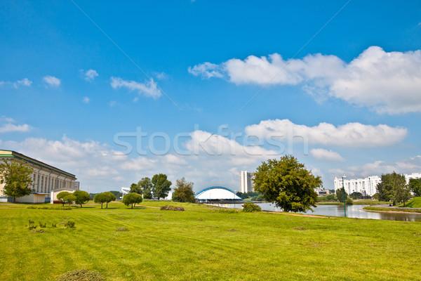 Minsk at summer Stock photo © PetrMalyshev