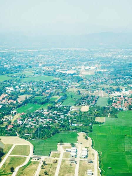 Chiang Mai Aerial View Stock photo © PetrMalyshev