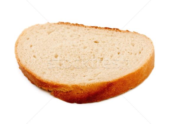 White Bread Slice Stock photo © PetrMalyshev