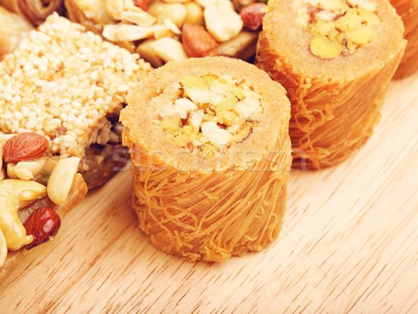 Oriental Sweet Baklava Stock photo © PetrMalyshev