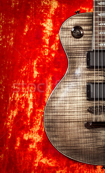 Electric Guitar Stock photo © PetrMalyshev