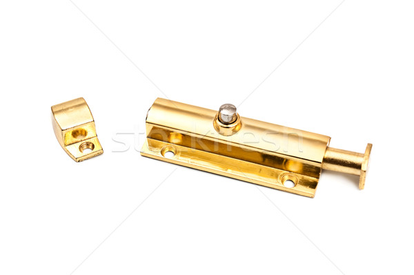golden latch Stock photo © PetrMalyshev