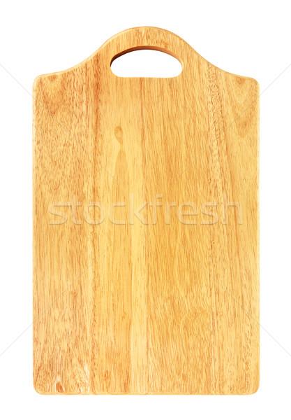 Wooden Cutting Board Stock photo © PetrMalyshev