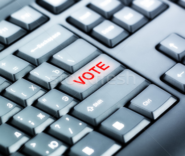 Keyboard with VOTE Button Stock photo © PetrMalyshev