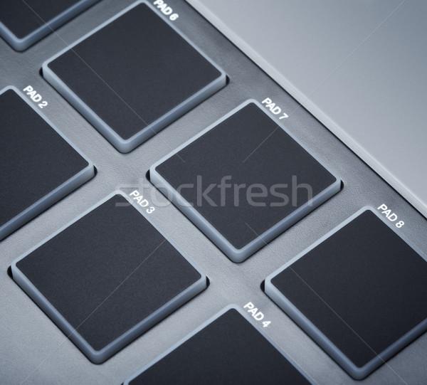 Midi Keyboard Pads Stock photo © PetrMalyshev